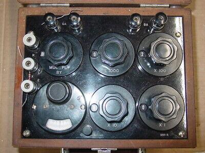 Minneapolis Honeywell Reg. Co. Rubicon Instruments Model 1352 Wheatstone Bridge