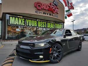 2018 Dodge Charger R/T 392 SCAT PACK PROOF BEATS BLK 20 WHEELS N