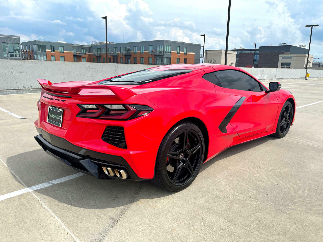 2020 Red Chevrolet Corvette Coupe 1LT | C7 Corvette Photo 5
