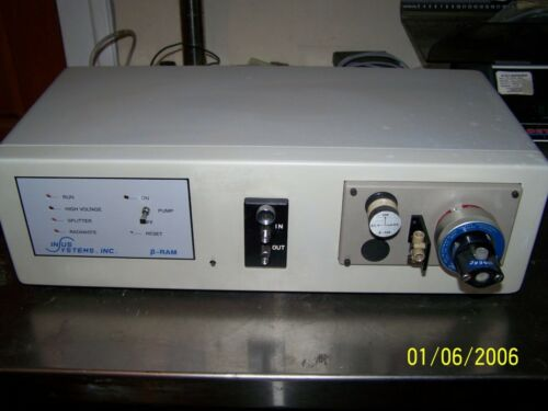 In/us Systems Beta Ram Model 2b  Soft Gamma Isotope Detector