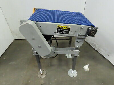 27 Incline Slide Bed Conveyor 17-12 Plastic Chain Belt 266 Fpm 208-230460