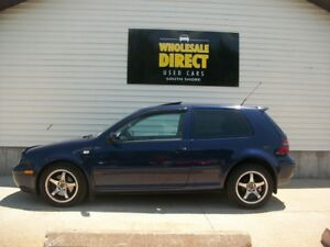 2002 Volkswagen Golf GTI 1.8L TURBO - POWER SUNROOF - CRUISE - P