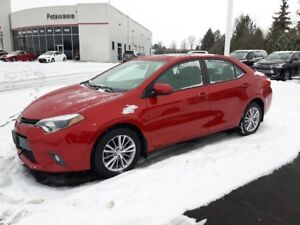2015 Toyota Corolla LE with Ugrade Package