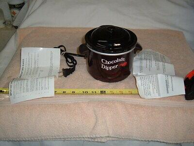 CHOCOLATE FONDUE POT Ceramic Chocolate Fondue Pot