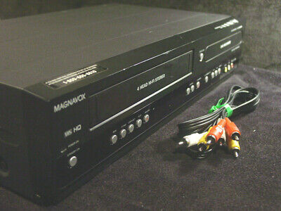 Magnavox ZV450MW8 VCR DVD Recorder Combo DIY Copy transfer Dub Home Movies NICE