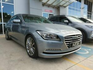 2014 Hyundai Genesis DH Ultimate Pack Grey 8 Speed Sports Automatic Sedan Hoppers Crossing Wyndham Area Preview