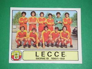 RARA-FIGURINA-CALCIATORI-PANINI-1981-82-81-82-NR-392-SQUADRA-LECCE-NUOVA