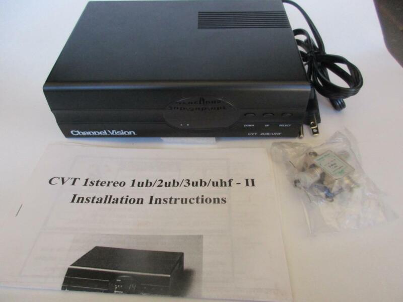 Channel Vision CVT 2UB/UHF Dual 2-Channel Digital RF Modulator