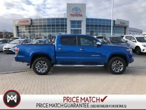2018 Toyota Tacoma 4X4 4X4 DBL LTD SHORTBOX-TOYOTA CANADA DEMO O