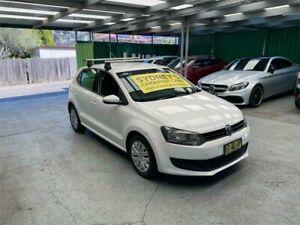 2013 Volkswagen Polo 6R MY13.5 Trendline DSG White 7 Speed Sports Automatic Dual Clutch Hatchback Croydon Burwood Area Preview