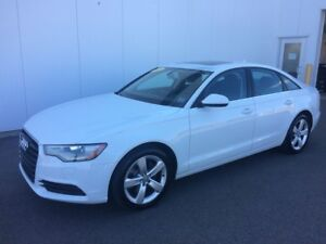 2013 Audi A6 2.0T Here's your chance a  Luxury Car without the