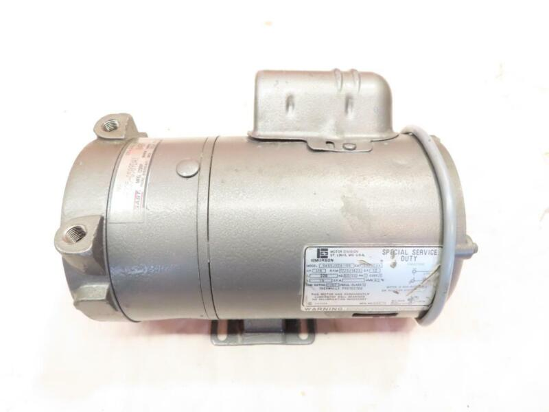 Good Used Clean Gast 0522-P335-G509DAX Oil Less Rotary Vane Vacuum Pump