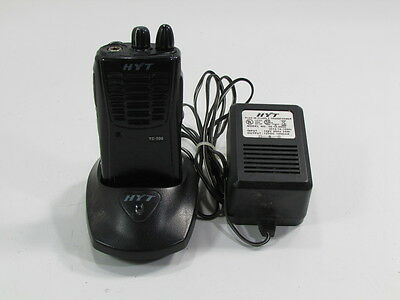 Hyt 2 Way Radio Tc-500v2 With Charger Hyt Ch05n03 Mcu And Adapter
