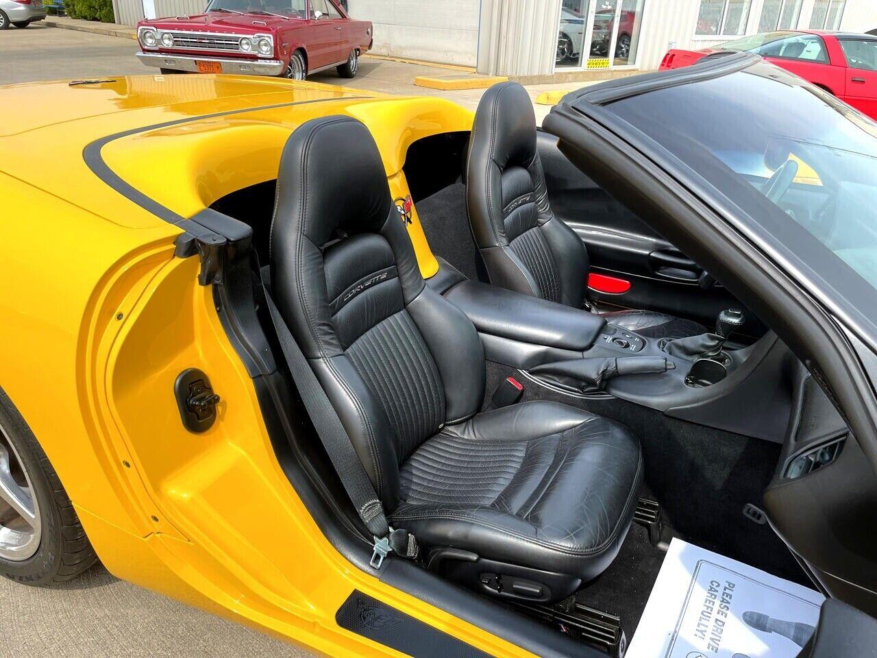 2004 Yellow Chevrolet Corvette Convertible    C5 Corvette Photo 6