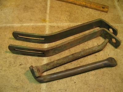 Vintage John Deere Plow Bottom Moldboard Brackets Braces