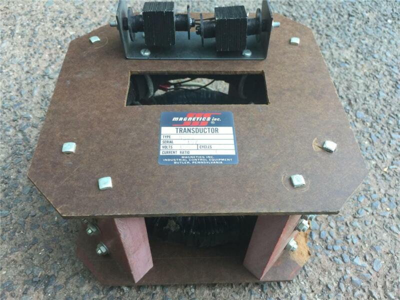 Magnetics Inc 4326 Transductor magnetic amplifier - compensating reactive power