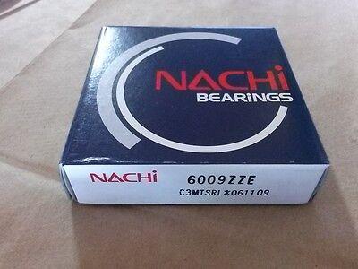 6009zz C3 Single Row Ball Bearing Nachi Japan