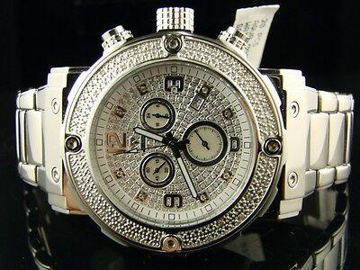 Herren Neu Aqua Master Joe Rodeo Jojino EDELSTAHL Original Diamant Uhr mit #146 (Jojino Uhren)