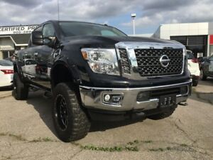 "2018 Nissan Titan XD SV Gas Demo Price of $476 BiWeekly* 5"" S..."