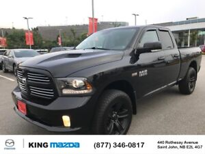 2016 RAM 1500 Sport Black on Black..5.7L Hemi..4X4..Bucket Se...