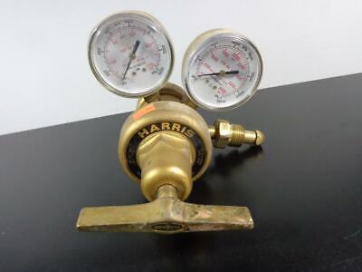 Harris Equipment Model 9200 Pressure Regulator 125 Psig With 2 Gauges