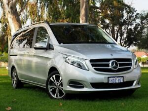 2018 Mercedes-Benz V-Class 447 V250 d 7G-Tronic + Avantgarde Silver 7 Speed Sports Automatic Wagon