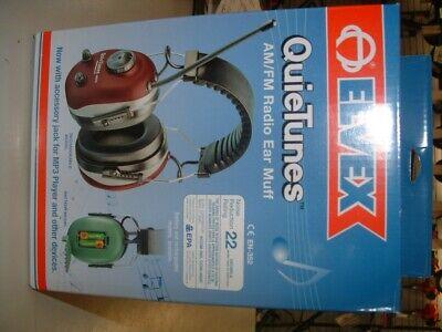 Elvex Quietunes 660 Amfm Radio Earmuffs Oem Nos
