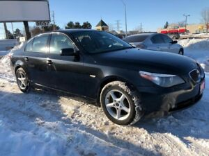 2007 BMW 5 Series 530xi, AWD, Accident Free, Warranty, Certified