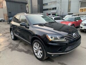2016 Volkswagen Touareg EXECLINE (FULL OPTIONS) (CLEAN) (LOW KM)