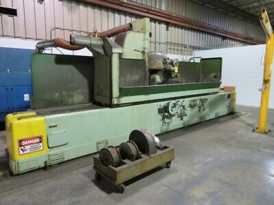 Thompson 10ch Hydraulic Surface Grinder With 2 Magnetic Chucks 20 X 60