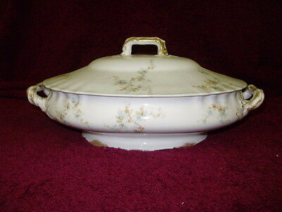 Gorgeous Haviland Limoges Schleiger 1019 Oval Covered Vegetable Bowl on Rummage