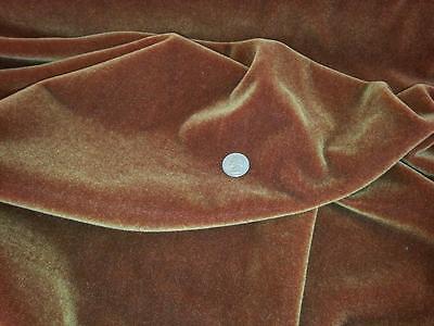 Brunschwig Fils  wool mohair fabric 5.75 yards rust