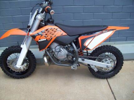 2013 KTM 50SX MINI MX Trail Fun Bike