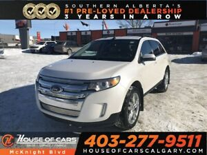 2013 Ford Edge Limited / Leather / Back Up Cam