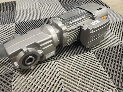 Sew Eurodrive Ka29t Drn80m4be2hr Hollow Shaft Gear Motor 1 Hp 130 Rpm