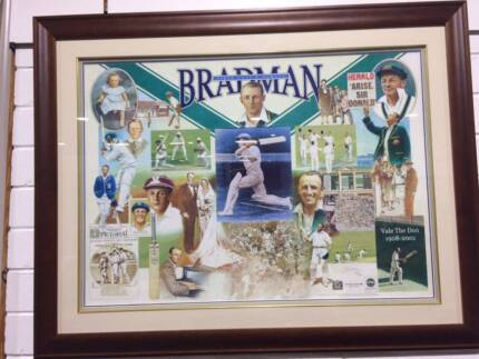 Bradman Limited Edition Print/Picture/Art Cricket Collectable