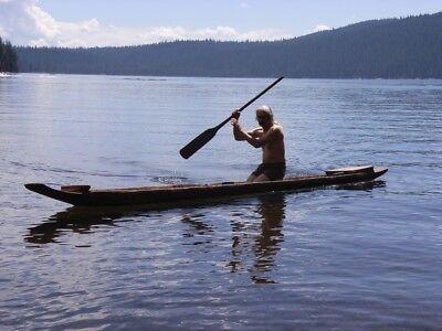 Old Teak dugout canoe from Thailand 19.5 feet