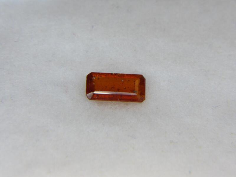 1.59CT NEW STUNNING SUPER RARE COLLECTOR GEM RED ORANGE FACETED KENYIAN KYANITE