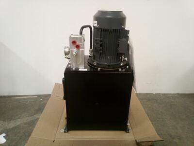 Monarch T94c405c93f0-01 5 Hp 1800 Rpm 208-230460vac 15 Gal Hydraulic Power Unit