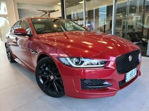 2015 Jaguar XE X760 MY16 R-Sport Red 8 Speed Sports Automatic Sedan North Hobart Hobart City Preview