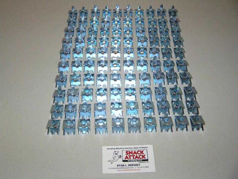 TRUE, BEVERAGE AIR & FOGEL (100) COMMERCIAL COOLER / FREEZER SHELF CLIPS - NSF