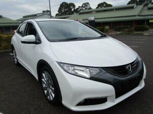 2013 Honda Civic 9th Gen MY13 VTi-L White 5 Speed Sports Automatic Hatchback Minchinbury Blacktown Area Preview