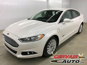 2016 Ford Fusion Energi Energy Plug in SE Luxury Cuir Mags