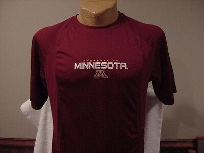 Beautiful Minnesota Gophers Mens Sz Md Maroon Pro Edge Dri Fit Shirt  New Nice