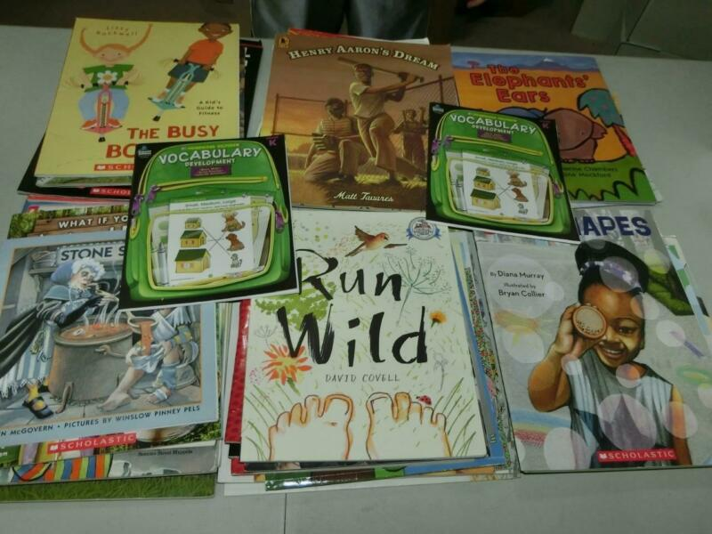 Huge Lot 55 K 1st  2nd 3rd  Grade AR Picture Books TEACHER LIBRARY