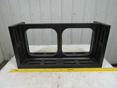 12x18x36 Slotted Cast Iron Angle Platefixturing Machinist Set Up Unusual