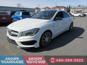 2014 Mercedes Benz CLA-Class ***CLA 45 AMG TOIT PANORAMIQUE CAME