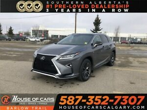 2016 Lexus RX 350 Navy / Heated and cooled leather seats