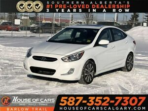 2017 Hyundai Accent GLS / Heated Seats / Bluetooth / Sunroof