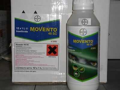 INSECTICIDE MOVENTO 48 SC BAYER SYSTEMIC PSYLLIDS, APHIDS, SCALE INSECTS 1 LT